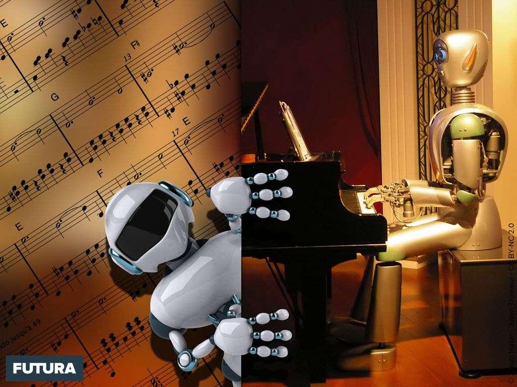 Robotique : leçon de piano