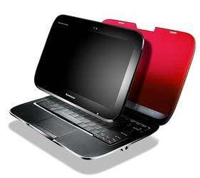 Le Lenovo IdeaPad U1 et son écran amovible qui devient une tablette tactile (cliquer sur l'image pour l'agrandir). © DR