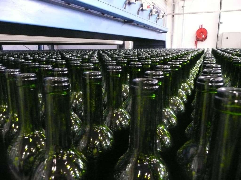 Une armée de bouteilles