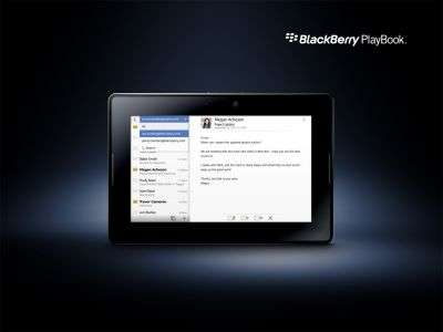 Malgré son nom, le PlayBook est un outil de travail. © RIM