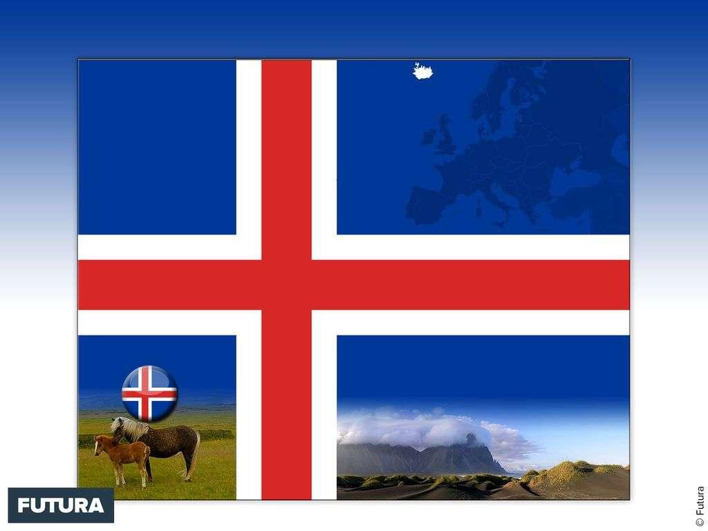 Drapeau : Islande
