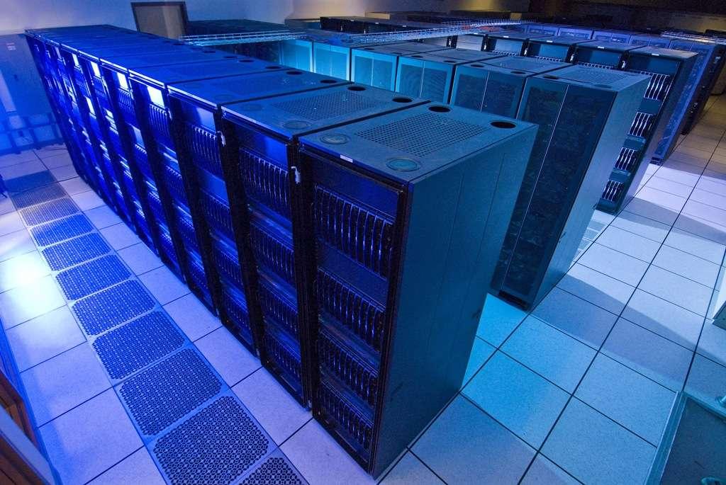 Une vue du superordinateur Lonestar. On a peut-être résolu grâce à lui une des énigmes de la matière noire. © Université du Texas