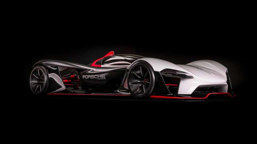 Dérivé de la Porsche 99X Electric qui court en Formule E, ce concept né en 2019 est une monoplace de course pensée pour les pilotes privés. © Porsche