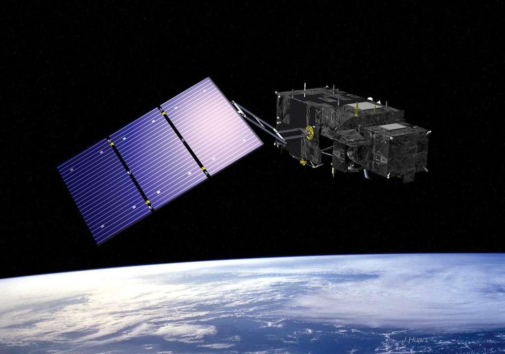 Le satellite Sentinelle-3 est développé par l'Esa et réalisé par Thales Alenia Space. Son lancement est prévu en 2013, et il aura pour mission d'observer les océans ainsi que la végétation sur les terres émergées. © J. Huart, Esa