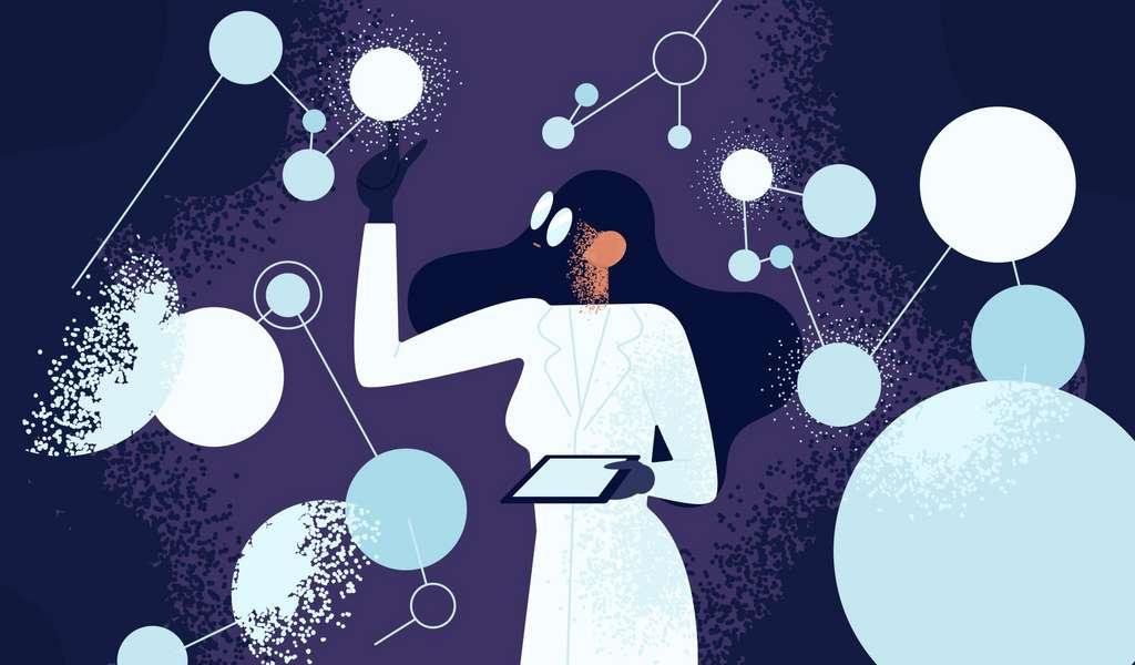 L'informatique ouvre la porte à de nombreux domaines, dont la santé. © Good Studio, Adobe Stock