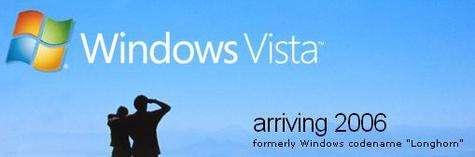 Finalement, pour sa version grand public, Windows Vista ne sera disponible qu'au mois de janvier 2007 (Crédits : Microsoft)