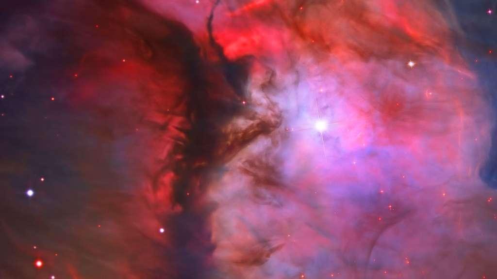 Photo de M43, une nébuleuse diffuse