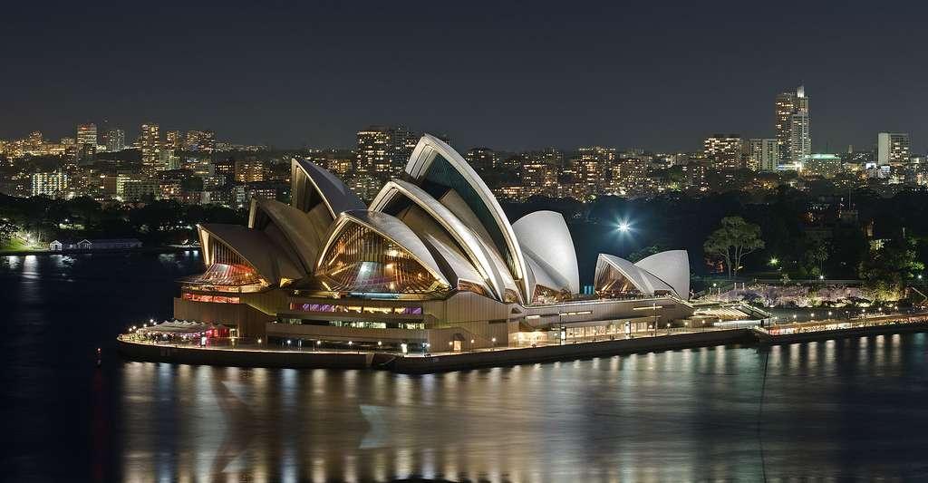 L'opéra de Sydney est un chef-d'œuvre architectural à la silhouette reconnaissable entre toutes. © Diliff, CC-BY-SA 3.0