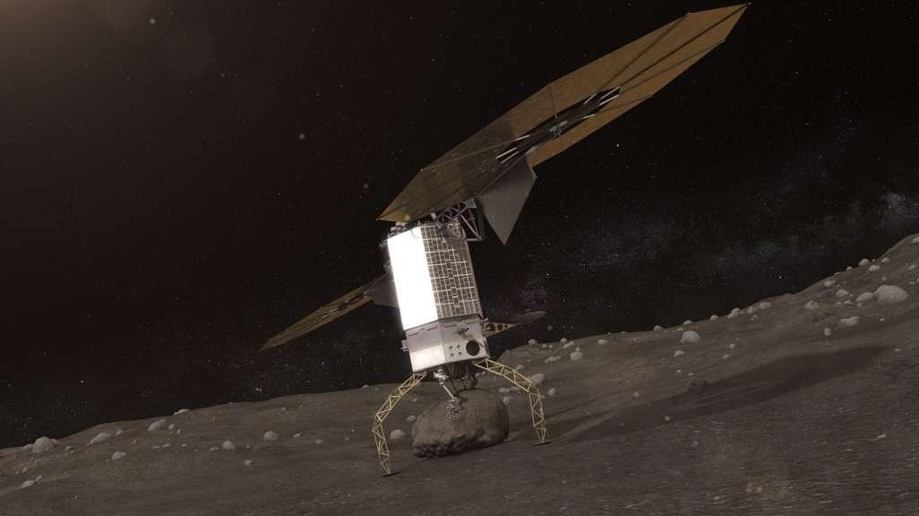 Dans la décennie 2020, en ramenant un gros rocher à proximité de la Lune, la Nasa veut donner à ses astronautes une nouvelle destination, consciente que la Station spatiale internationale ne durera pas ad vitam æternam. © Nasa