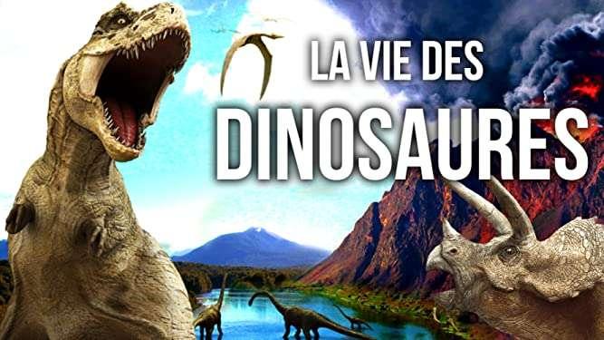La vie des dinosaures © Amazon