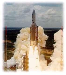 Fusée Ariane 5 au décollage © ESA