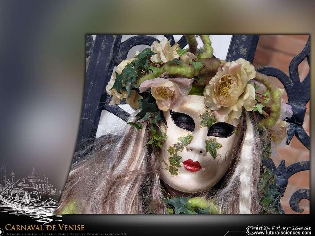 Carnaval de Venise - Femme lierre