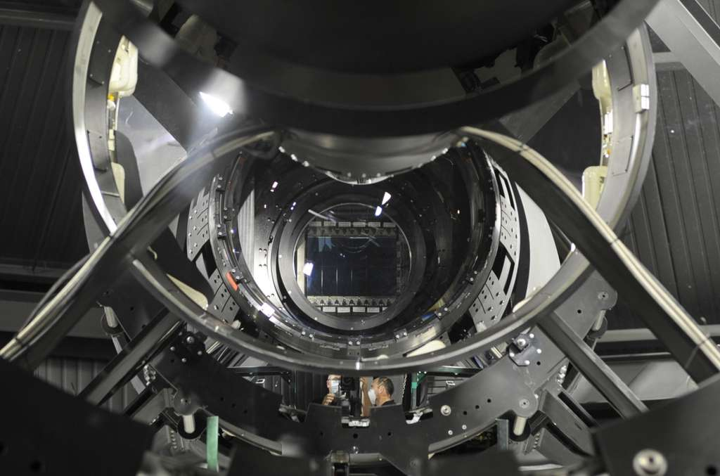 Ce télescope a été mis au point avec l'aide du Massachusetts Institute of Technology et de L-3 Brashear Corporation. © Darpa