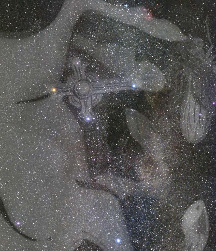 La Croix du Sud, la plus petite des constellations