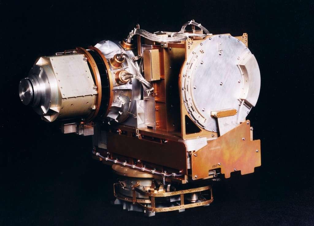 Le spectromètre Caps qui équipe la sonde Cassini est utilisé pour étudier la composition, la densité, le débit, la vitesse et la température des ions et des électrons dans la magnétosphère de Saturne. © Nasa