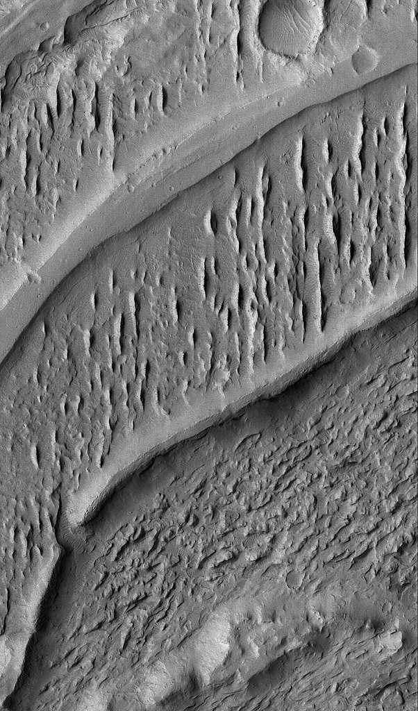 Canaux inversés sur Mars