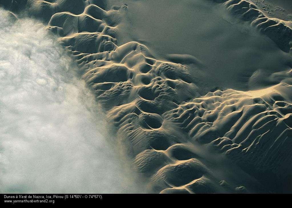 Dunes à l'est de Nazca, Ica, Pérou