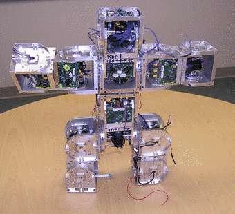 Superbot, le futur robot domestique polymorphe ? © Polymorphic Robotics Laboratory
