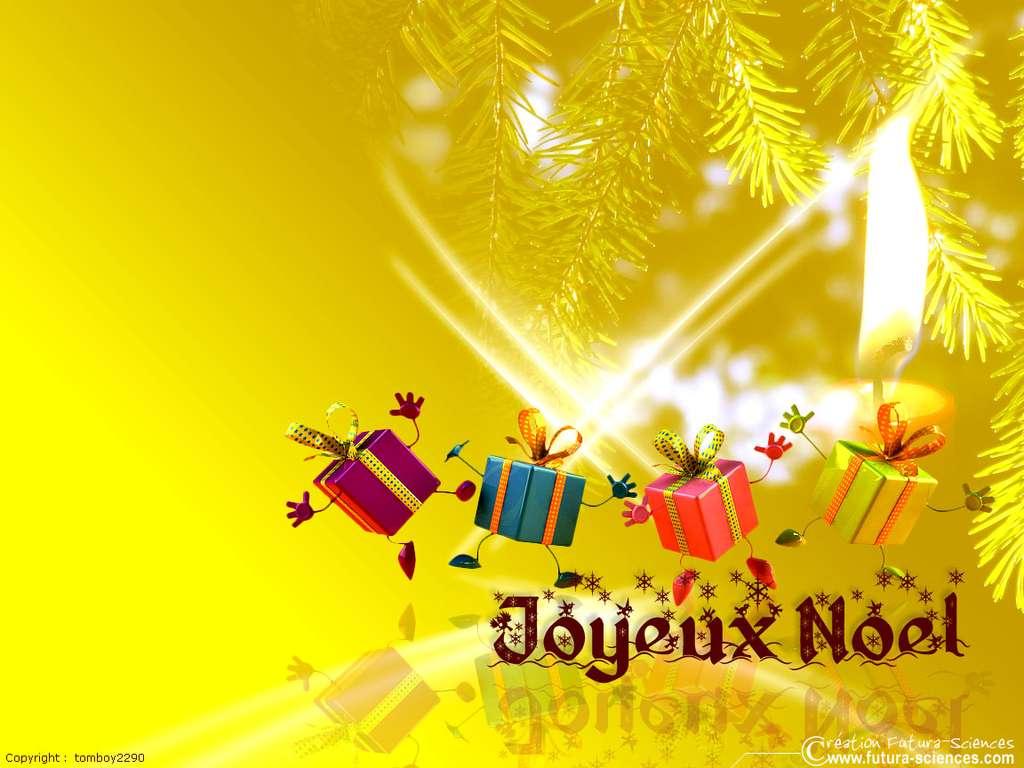 Noël, ronde des cadeaux