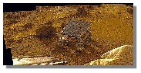 Le sol martien a-t-il abrité de la vie ? © Nasa