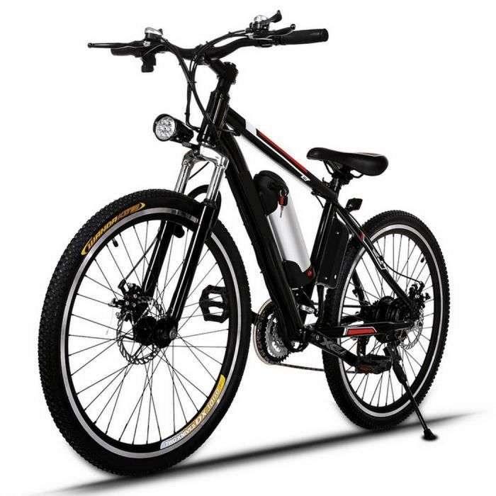 """VTT Vélo électriques de montagne 26"""" © Cdiscount"""