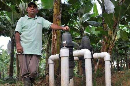 Système d'irrigation © Max Havelaar