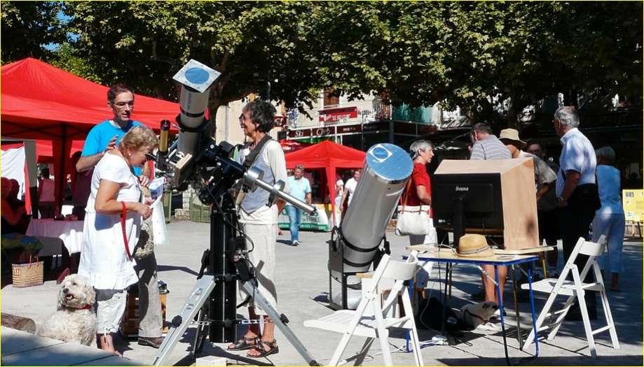 Les instruments doivent également disposer de moyens de filtration de la lumière destinés à protéger les observateurs. © SAML
