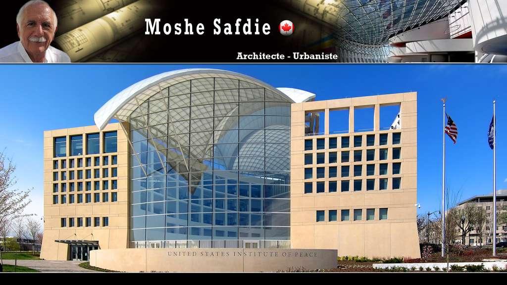 L'institut des États-Unis pour la paix, à Washington, par Moshe Safdie