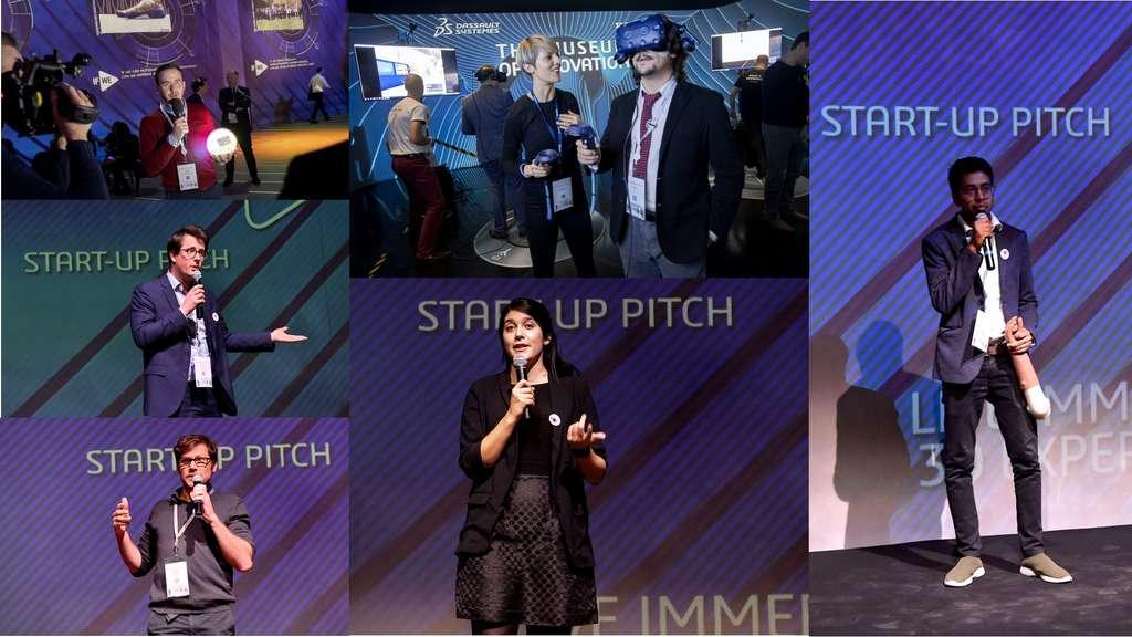 Le 3DEXPERIENCE Lab offre un accompagnement aux startups qui souhaitent changer le monde ensemble. © Dassault Systèmes