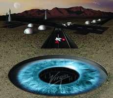 Virgin Galactic souhaite inaugurer en 2010 le premier aéroport spatial de l'histoire (Crédits : Virgin Galactic)