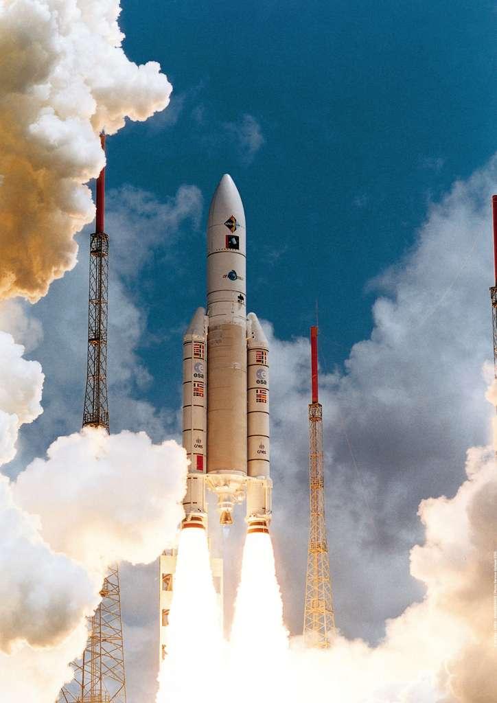 Dernier vol de qualification d'Ariane 5 Générique