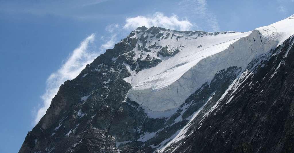 Face nord du Mont Blanc de Cheilon. © Pmau CC BY-SA 4.0