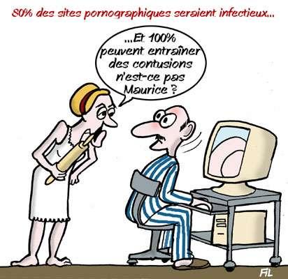 80% des sites pornographiques seraient infectieux