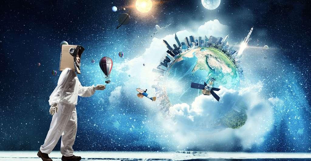 Le monde fascinant des rêves. © Sergey Nivens, Shutterstock