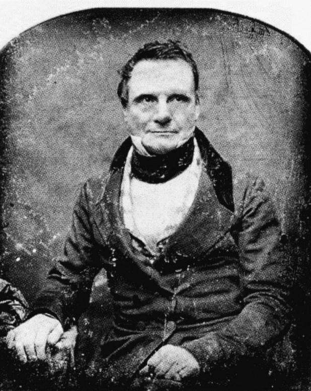 Une photo de Charles Babbage. © Crowl