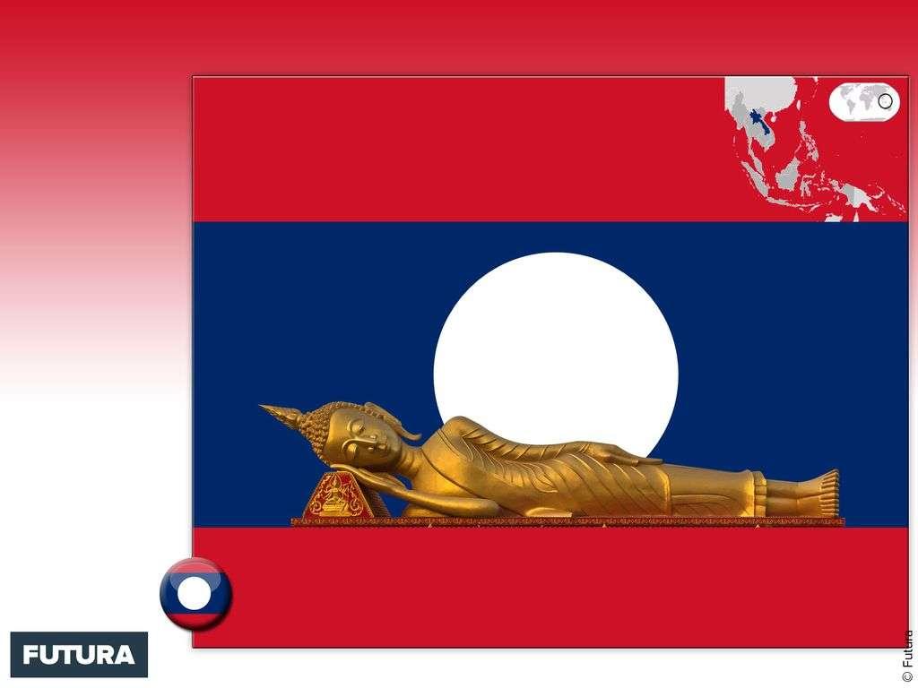 Drapeau : Laos