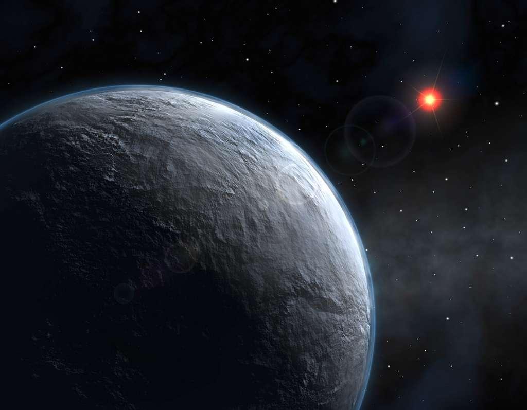 La recherche d'une forme de vie extraterrestre ne doit pas seulement se focaliser sur des planètes similaires à la Terre. Encore faut-il que les étoiles-parents soient bienveillantes. © Eso