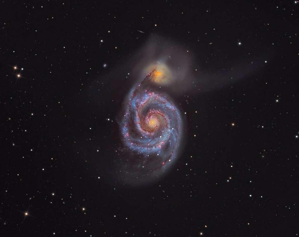 La galaxie du Tourbillon. © Martin Pugh