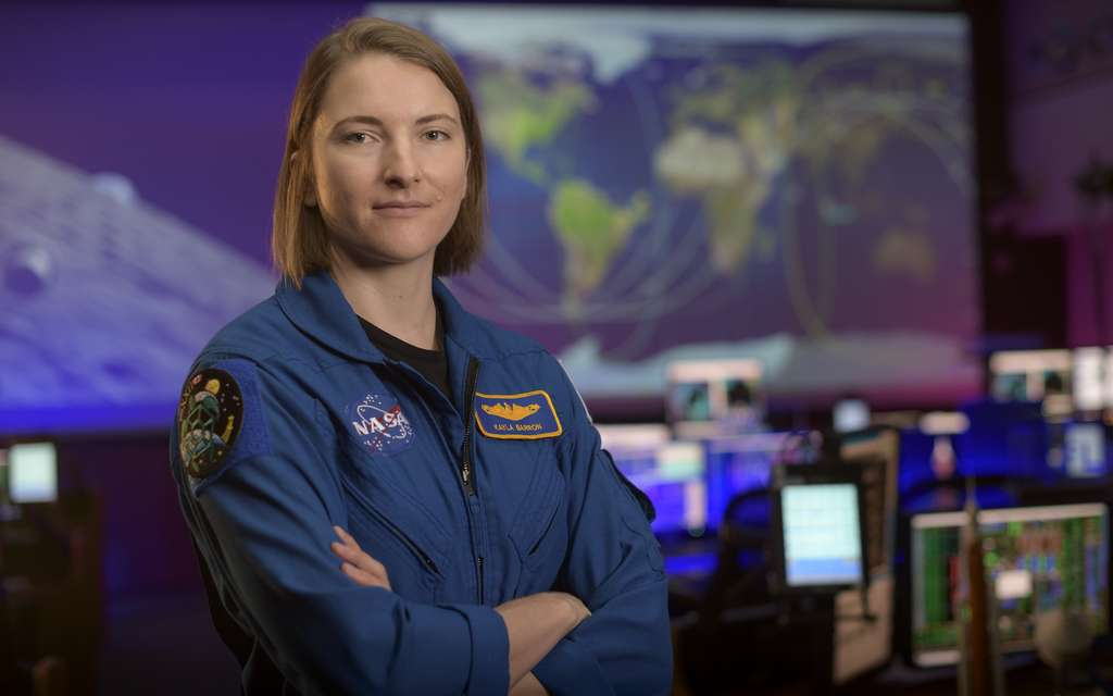 Kayla Barron © Nasa