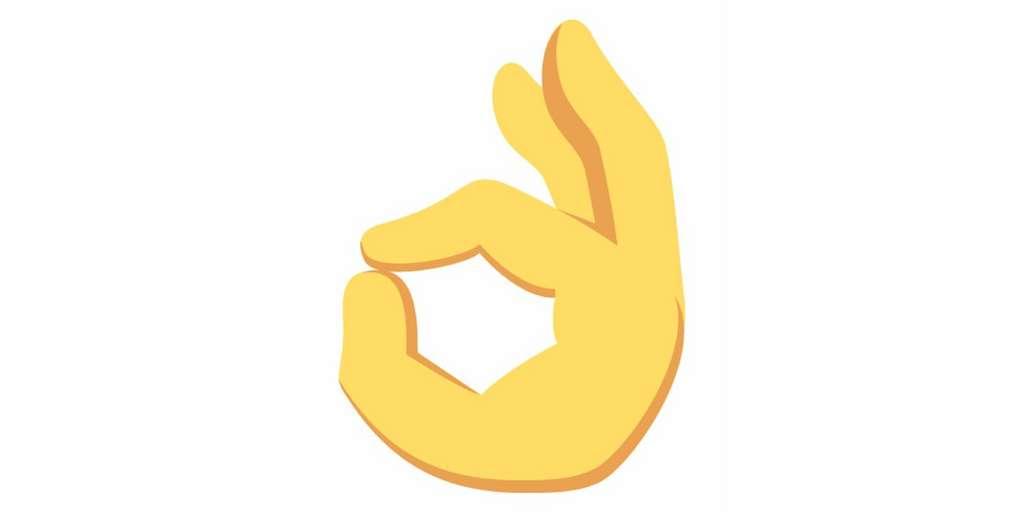 Parce qu'il est utilisé par les suprémacistes blancs, le signe « OK » est désormais considéré comme une insulte. © DR