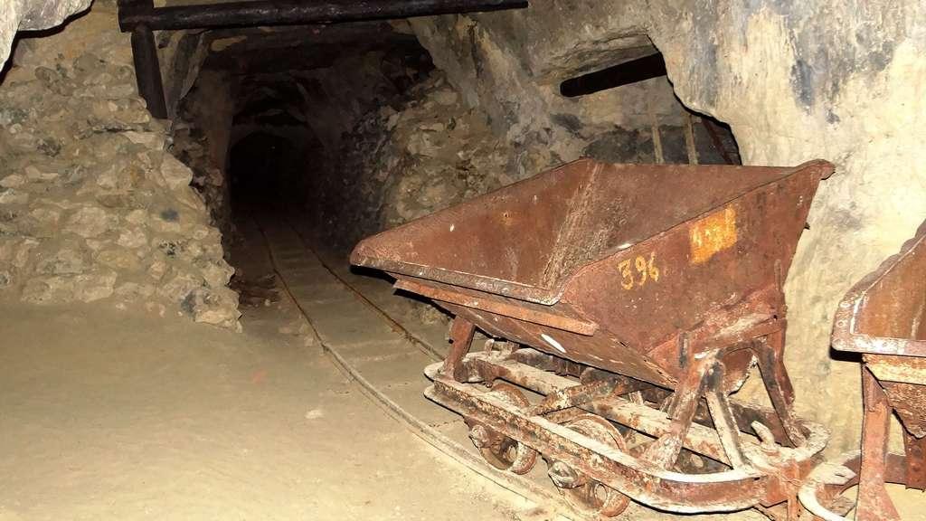 Les anciennes carrières de phosphate de la Malogne, en Belgique
