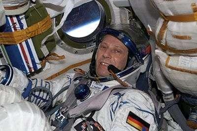 L'astronaute Thomas Reiter