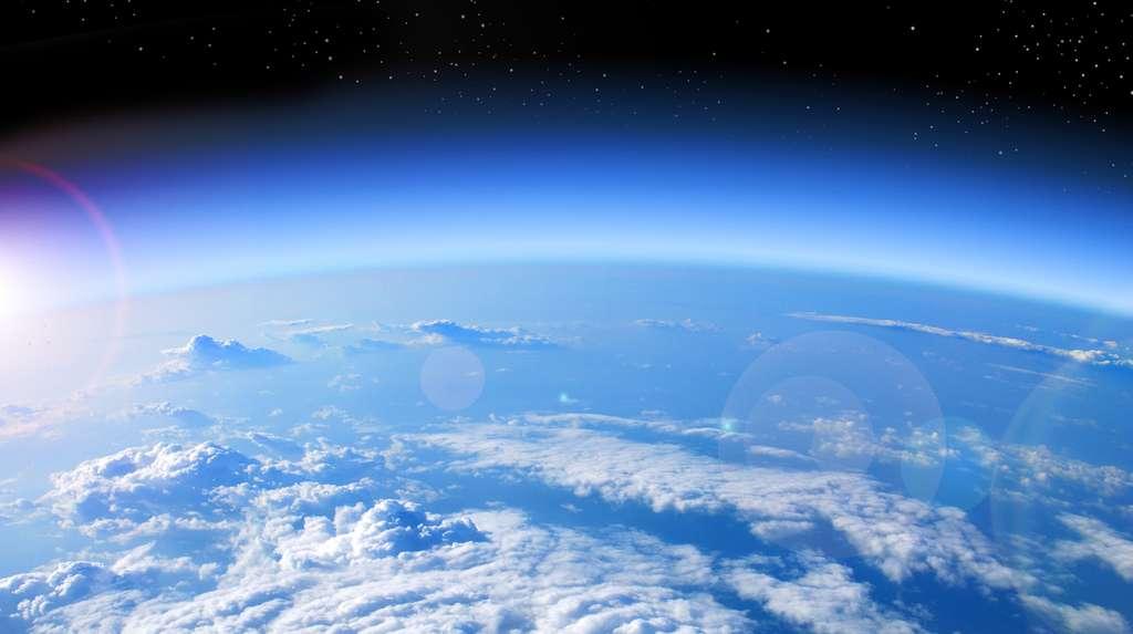 L'ozone que l'on trouve dans l'atmosphère terrestre est un allotrope de l'oxygène. © studio023, Fotolia