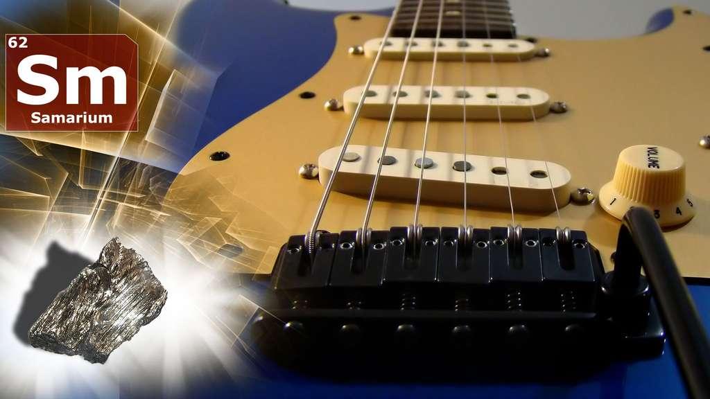 Le samarium dans les guitares et pour soulager la douleur liée aux cancers osseux