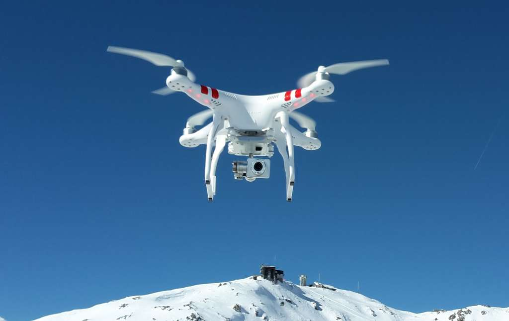 Le drone DJI Phantom. © Capricorn4049, Wikipedia