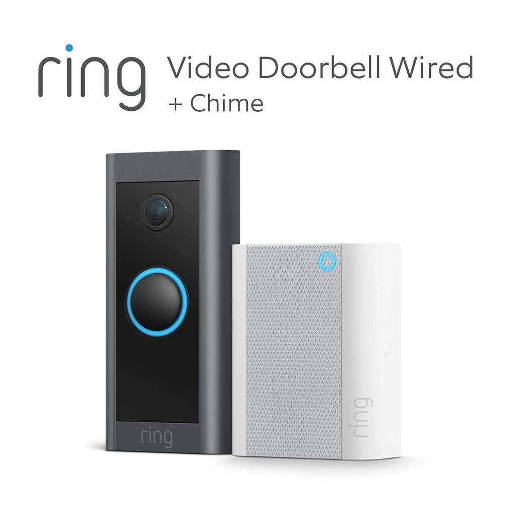 La sonnette vidéo connectée Ring Video Doorbel Wired © Amazon