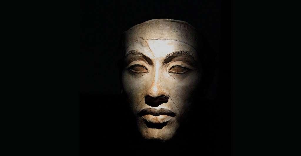 Akhenaton et l'art amarnien en Égypte. Ici, visage d'Akhenaton. © HoremWeb, GFDL
