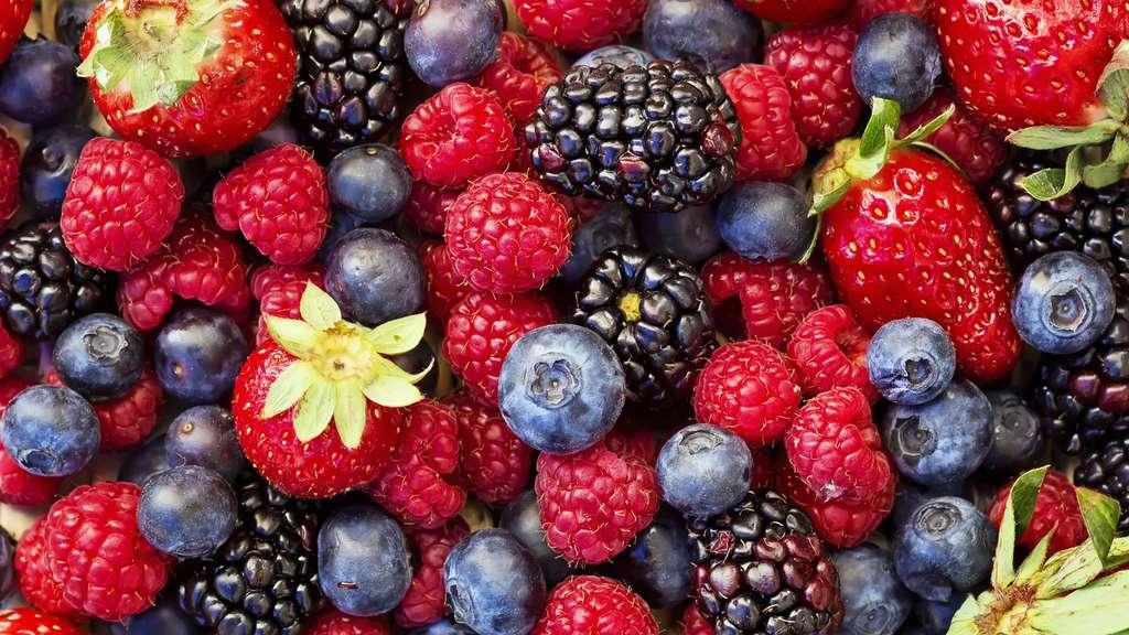 Mûres, framboises, cassis : les petits fruits rouges sont un vrai délice. © MilenneT, Shutterstock