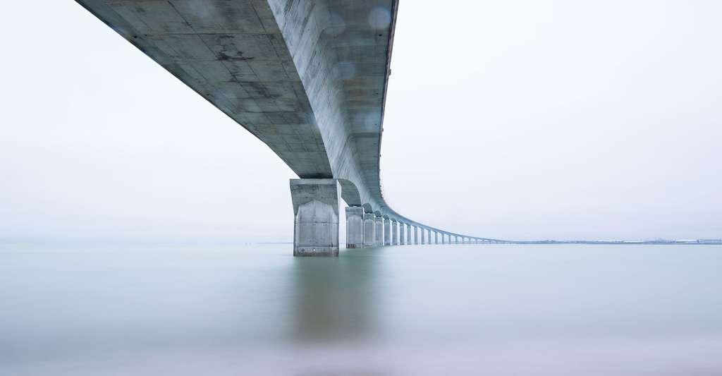 Pont en béton, un matériau fiable et très utilisé. © Pexels, Pixabay, DP