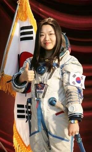 Le premier Sud-Coréen dans l'espace aurait dû être un homme. Mais ce sera finalement sa doublure, Yi So-yeon. Ko San, en effet, s'est discrédité aux yeux des Russes en ne respectant pas certaines règles imposées aux astronautes. © Kari